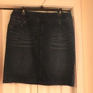 Style & Co. Denim Pencil Skirt XL NWOT